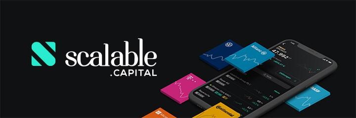 Logo von Scalable Capital - ETF-Sparplan
