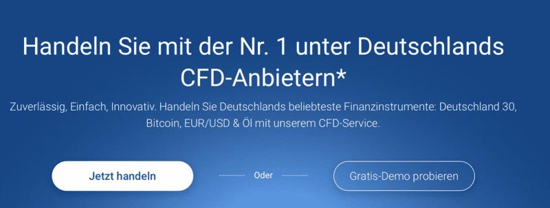 Gratis CFD-Demokonto bei Plus500