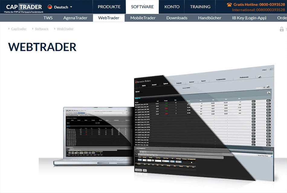 CapTrader Desktop