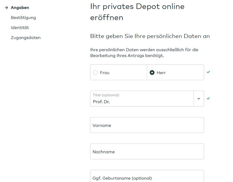 comdirect - Ihr privates Depot eröffnen - comdirect Aktiendepot Erfahrungen