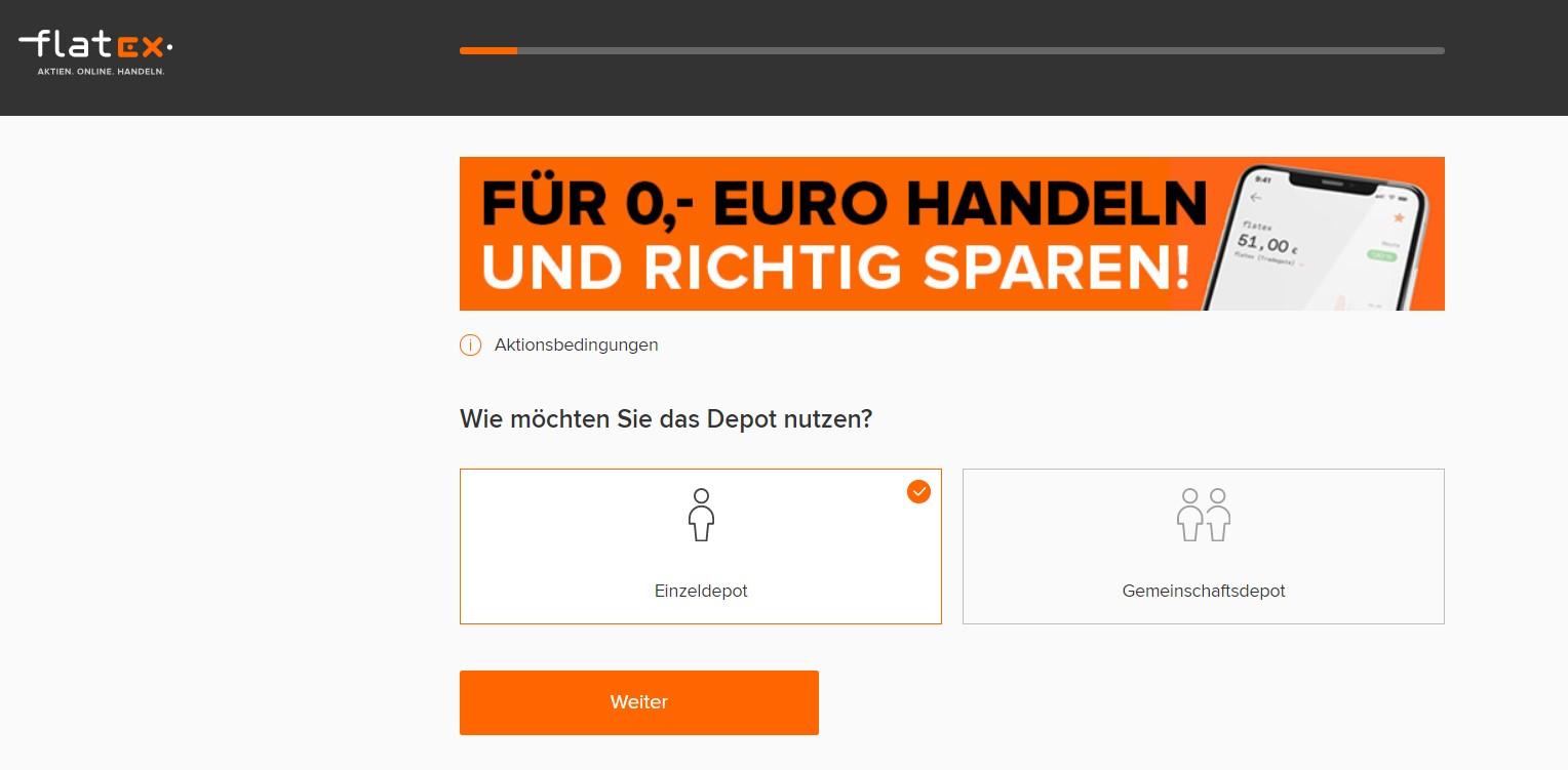 flatex für 0 Euro handeln - Flatex Erfahrung