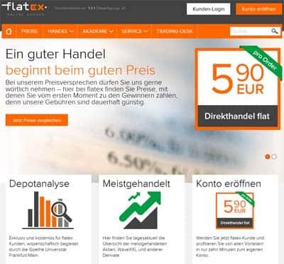 flatex Konditonen Direkthandel