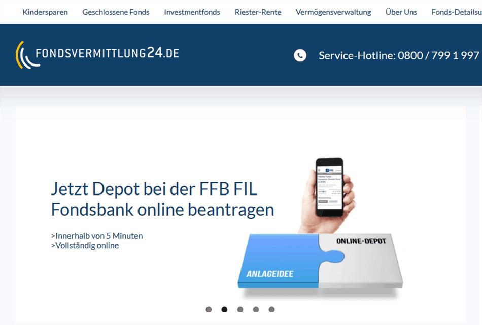 Fondsvermittlung24 Mobil