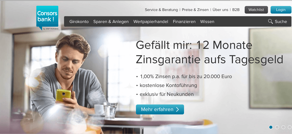 Sparplan Consorsbank