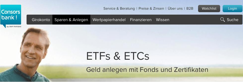 ETF Consos