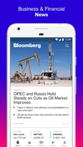 Bloomberg Börsen News App