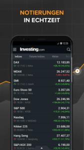 Investing.com Börsen-App