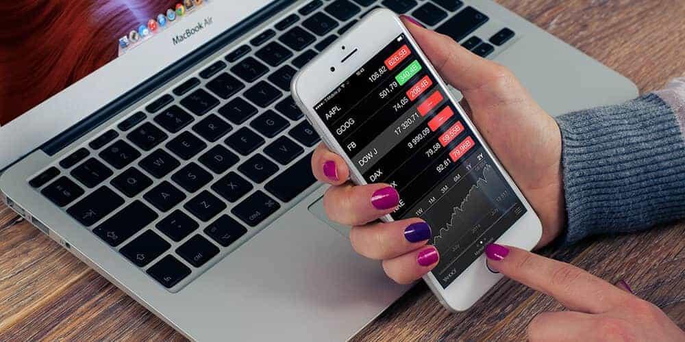 Finanzen in einer App