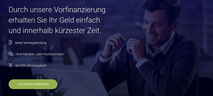 RECHNUNG.de Factoring und Rechnungsvorfinanzierung