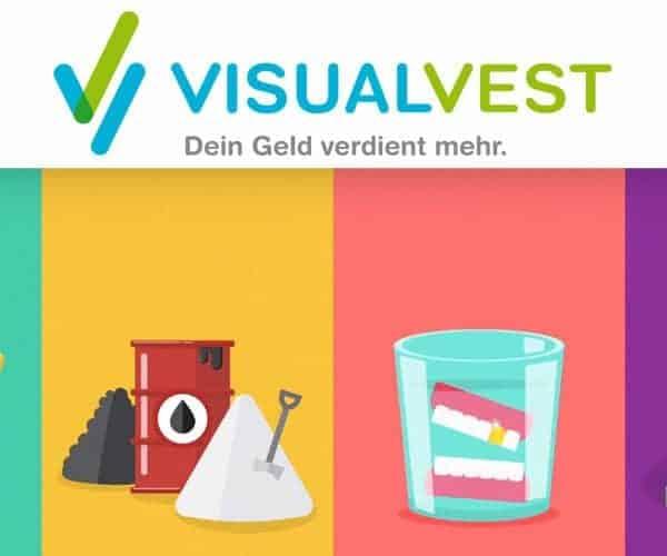 VisualVest Mindesteinzahlung