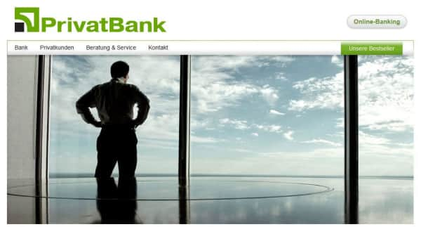 AS PrivatBank hat ihren Sitz in Riga.