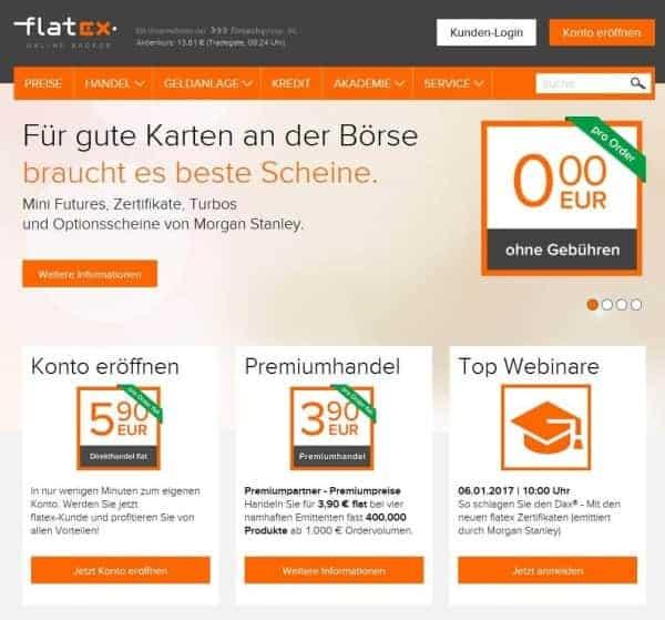 flatex ist bekanntermaßen günstig. Doch hält der Broker auch das was er verspricht?