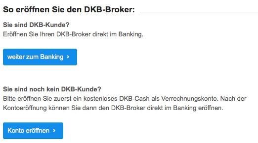 dkb depot eröffnen - DKB Broker Erfahrungen