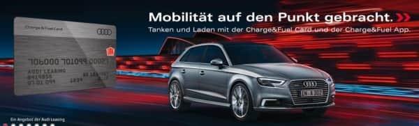 So präsentiert sich die Audibank auf ihrer Webseite