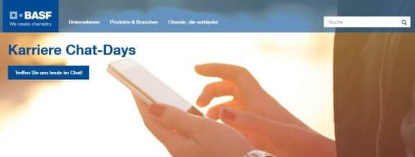 So präsentiert sich BASF auf seiner Webseite