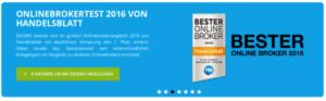 DEGIRO Auszeichnung zum besten Online Broker