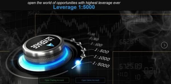 So präsentiert sich ForexMart auf seiner Webseite