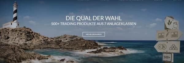So präsentiert sich JFD Brokers auf seiner Webseite