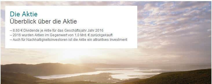 Munich RE Aktie