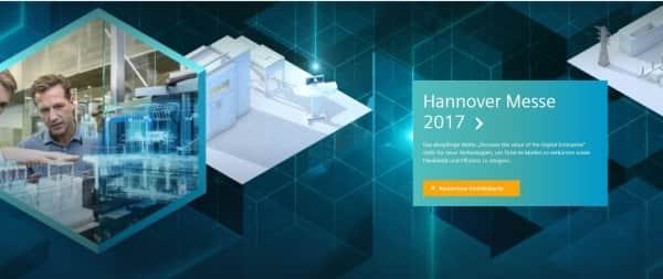 So präsentiert sich Siemens auf seiner Webseite