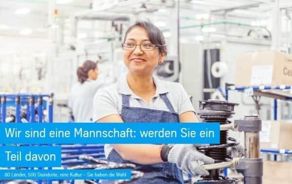 Thyssenkrupp - ein Unternehmen mit Mitarbeitern in 80 Ländern