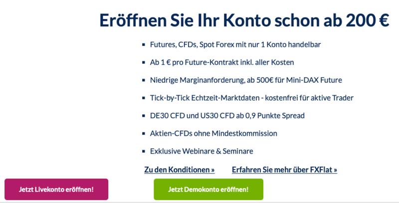 fxflat Livekonto eröffnen - FXFlat Erfahrungen