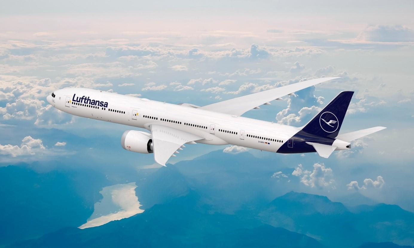 Flugzeug der Lufthansa