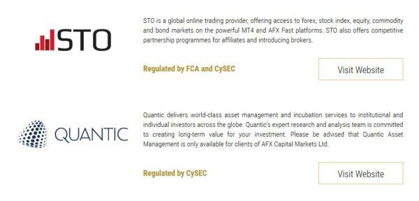 AFX Capital STO und Quantic