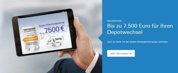 Deutsche Bank Depotwechsel