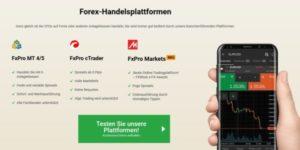 FxPro Forex-Plattformen