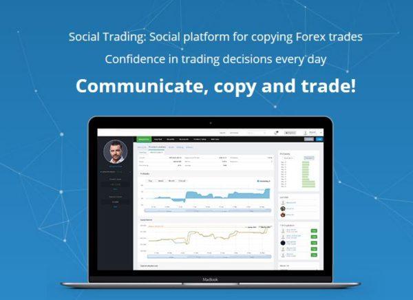 Social Trading gehört ebenfalls zum Angebot