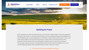 Banking for Food rabobank