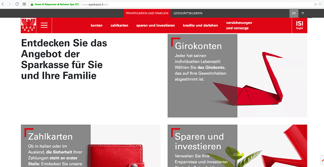 Sparkasse Südtirol
