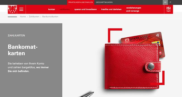 Kontokorrent Südtiroler Sparkasse