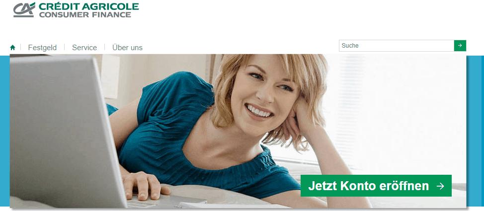 Crédit Agricole Festgeldkonto Test
