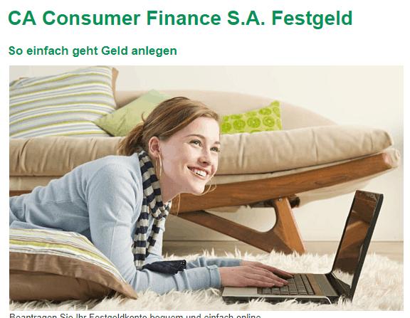 Crédit Agricole Festgeldkonto Testbericht