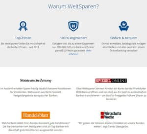 Webseite-WeltSparen