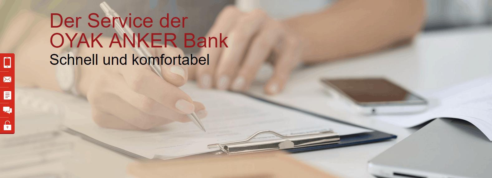Oyak Anker Bank Festgeldkonto Erfahrungsbericht