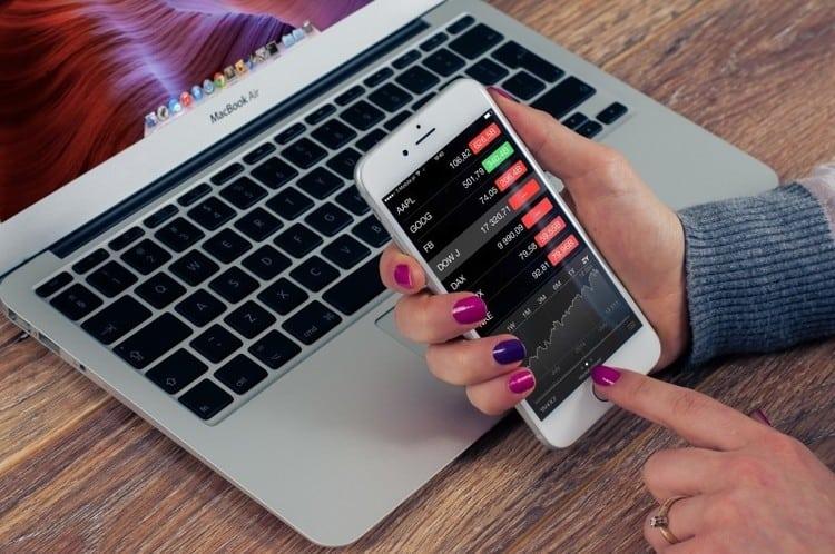 Mobiler Handel mit App