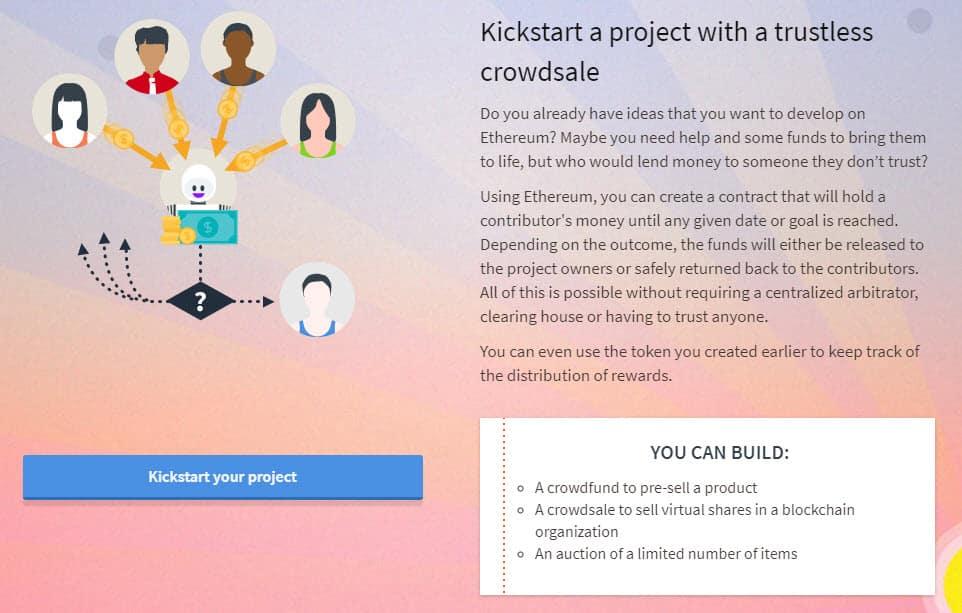 Ethereum Projekte