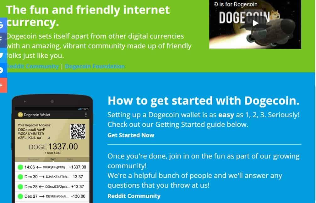 Mehr über den Dogecoin