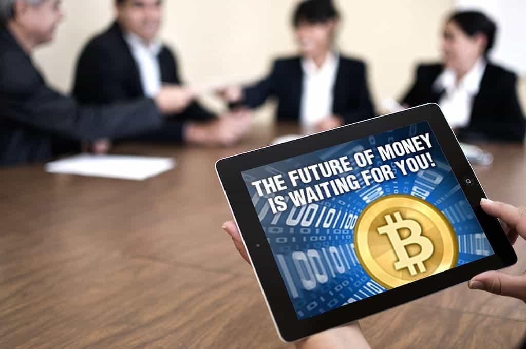 Die Zukunft ist der Bitcoin