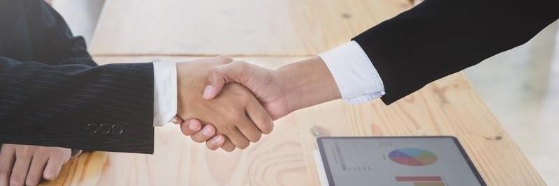 Handschlag Business Männer - Futures handeln
