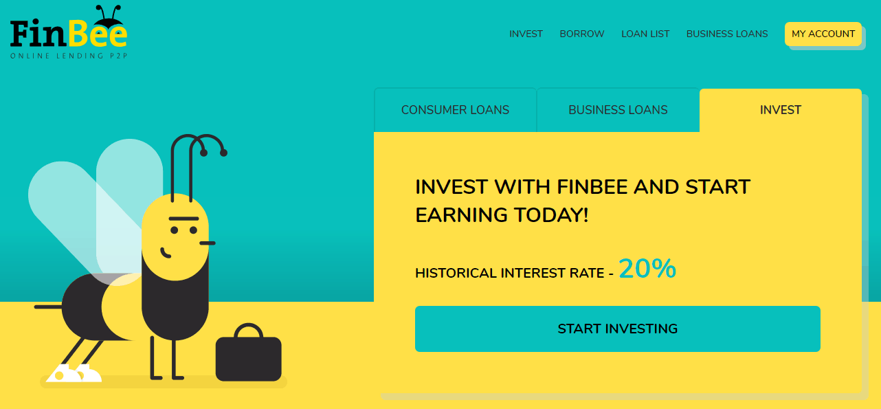 FinBee Mikrokredite