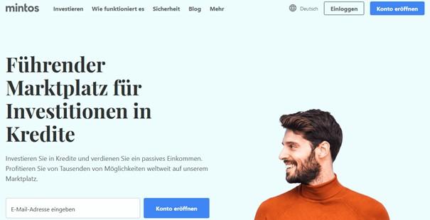 mintos Homepage