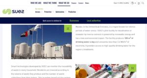 Suez Website