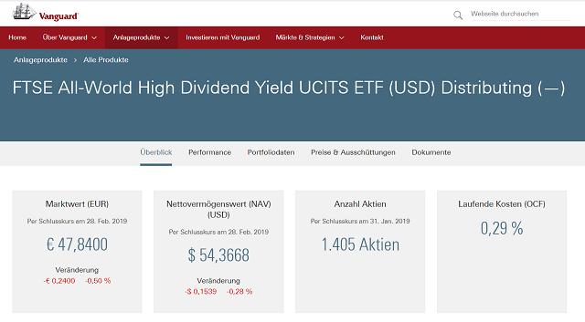 Vanguard ETF