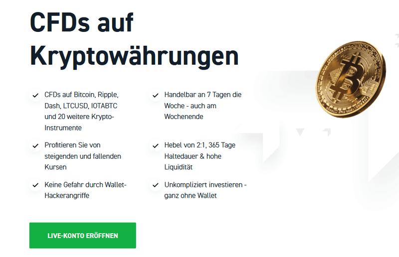 xtb webseite in kryptowährungen investieren