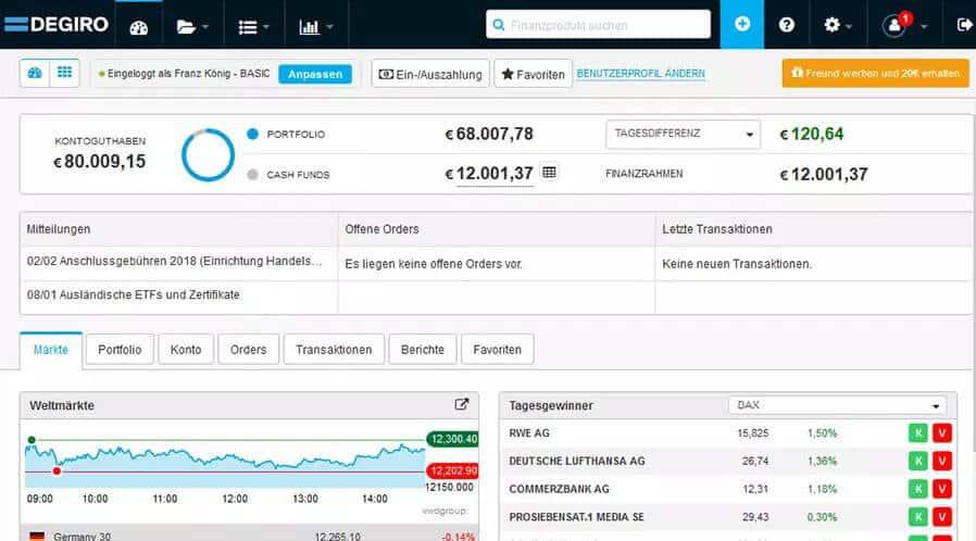 Degiro-screenshot