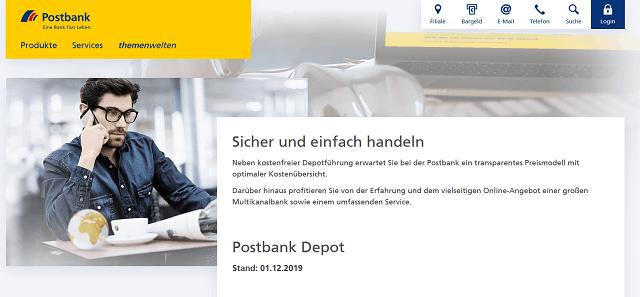 Postbank Broerage alt